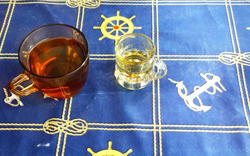 Tee Rakija in Ohrid