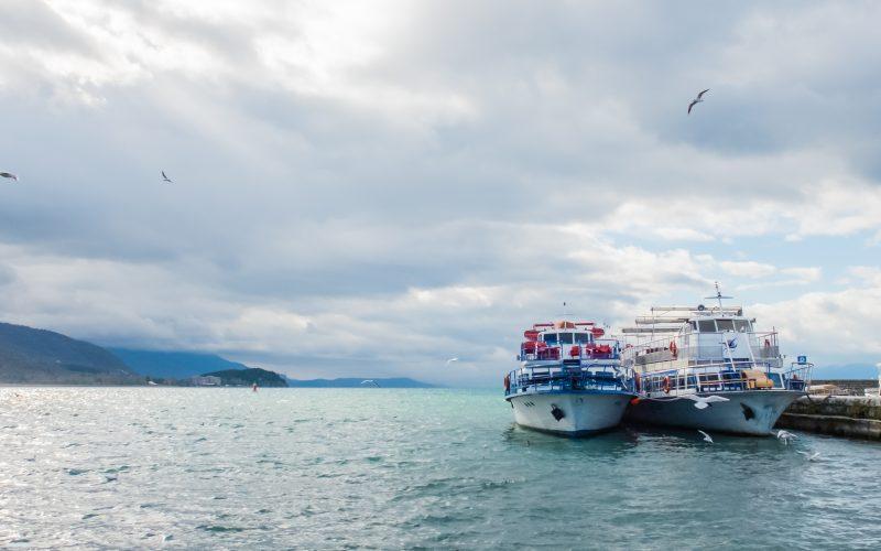 Ohrid See Ausflugsschiffe