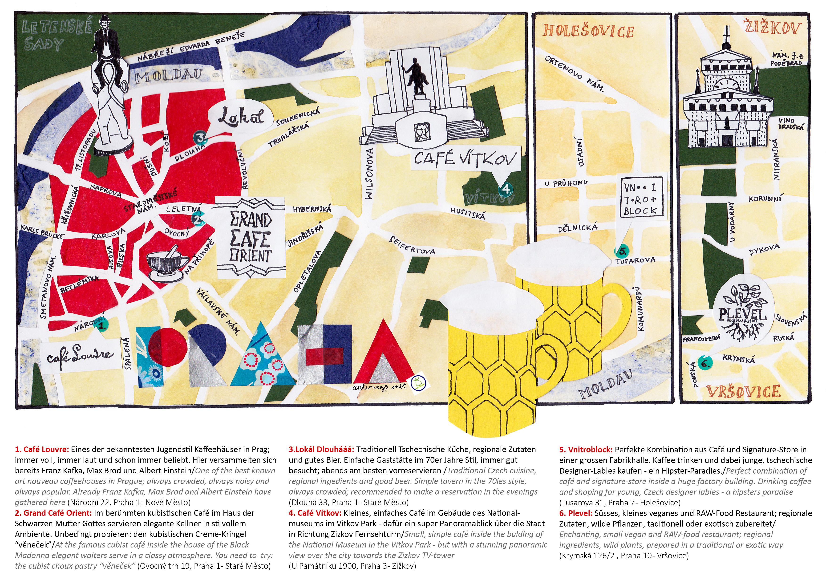 Stadtplan Ohrid